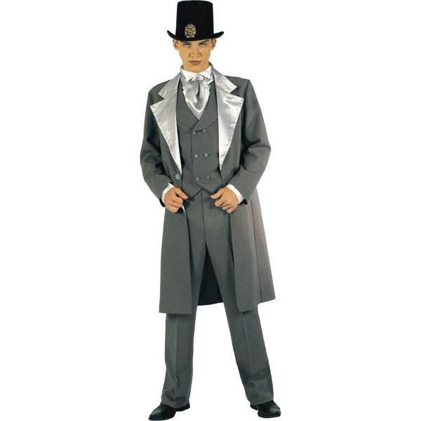 Fabuleux Costume 1900's Homme, Déguisement 1900's Gris homme - Be Happy DW22
