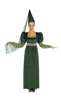 Robe Médiéval Green