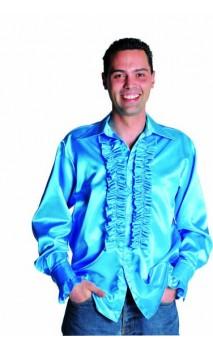 Chemise Disco Bleue