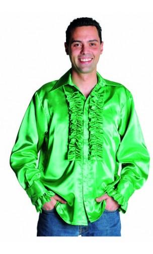 Chemise Disco Verte