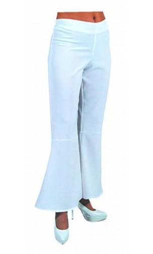 Pantalon Année 80 Blanche