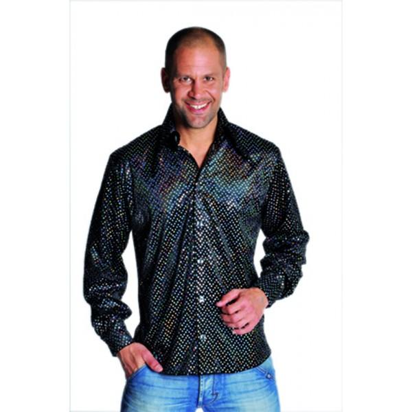 Chemise Disco à paillettes