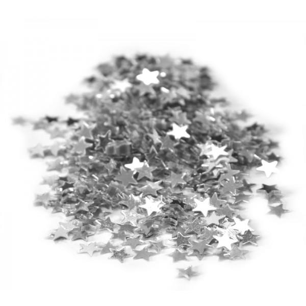 Confettis Etoile Argent