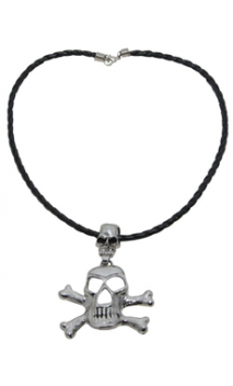 Collier Pirate Tête de mort