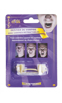 Dentier Vampire Rétractable