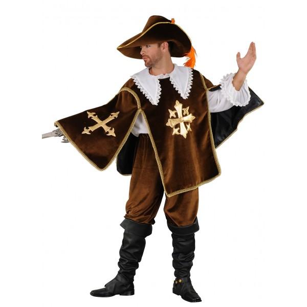 Costume mousquetaire d'Artagnan en location