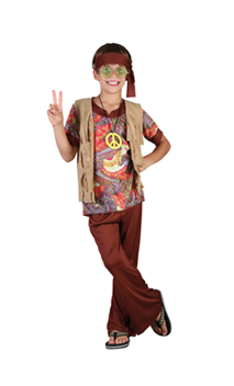 Déguisement Hippie Enfant H