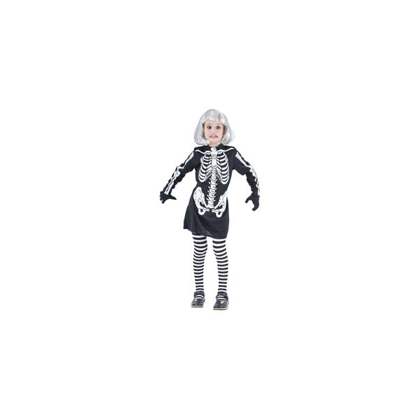 Déguisement Robe Squelette Enfant
