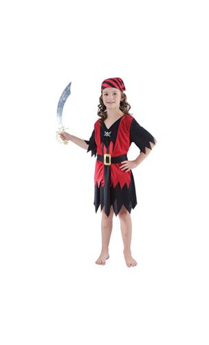 Déguisment Fille Pirate Enfant