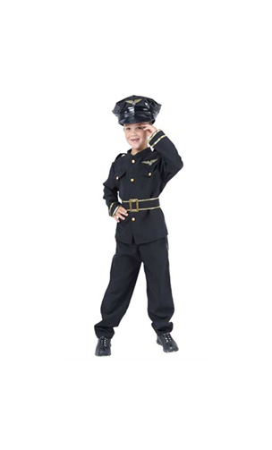 Déguisement Policier Enfant Deluxe - Be Happy 7881f2e49d79