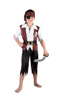 Déguisement Pirate Luxe Enfant