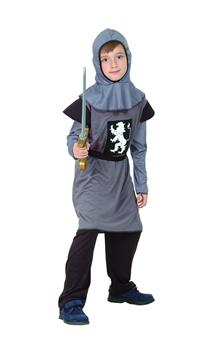 Chevalier Médiéval Gris Enfant