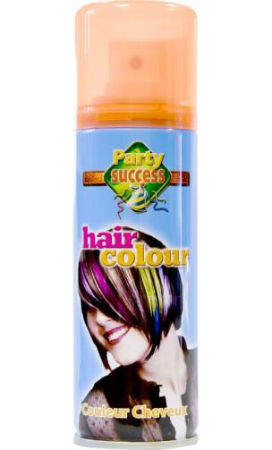 Laque à Cheveux Orange Fluo