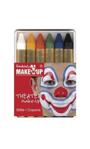 Palette 6 Crayon Maquillage