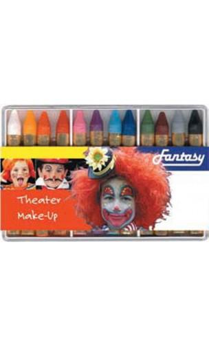 Palette 12 crayon maquillage