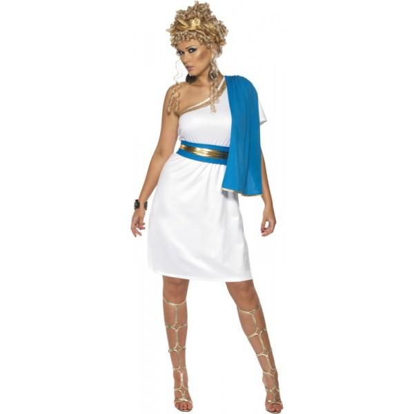 Costume Toge Romaine Bleu