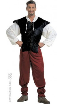 Costume Serveur Médiéval