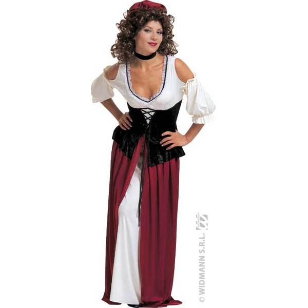 Costume Serveuse Médiéval
