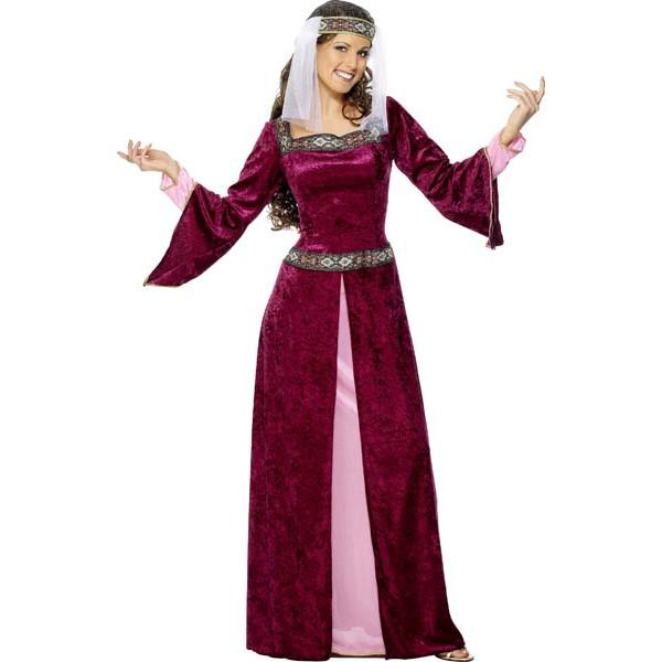 Costume Reine Médiéval