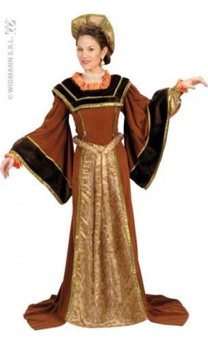 Robe Renaissance Reine Tudor