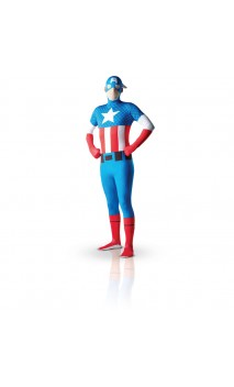 Costume Captain America - Morphsuit