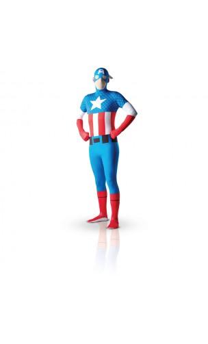 Costume Captain America - Morphsuit