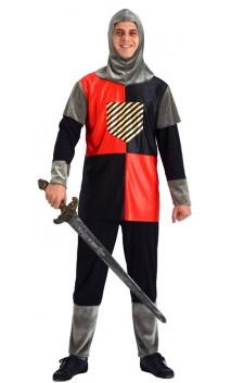 Costume Chevalier Noir et Rouge