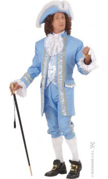 Costume Marquis Bleu Luxe