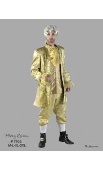 Costume marquis Louis XVI dorée luxe