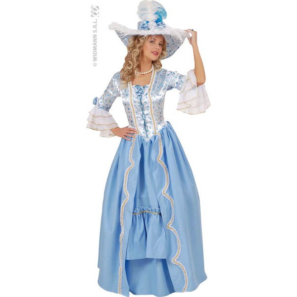 Costume Marquise Bleue Luxe