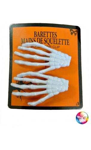 Barette Main De Squelette