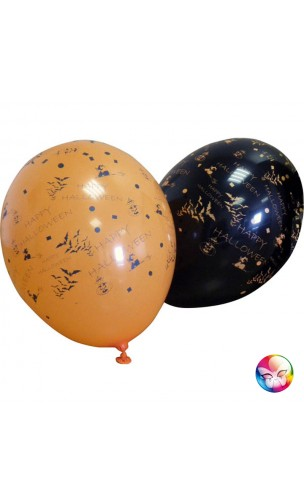 10 Ballon Halloween