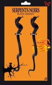 2 Cobras Noirs 34 cm
