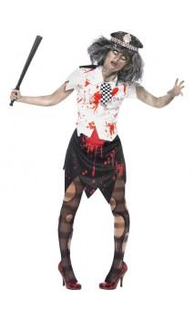 Costume Policière Zombie