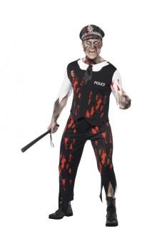 Costume Policier Zombie