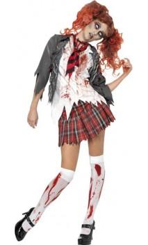 Costume Etudiante Zombie Luxe