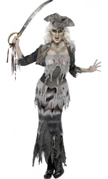 Costume Pirate Femme Zombie