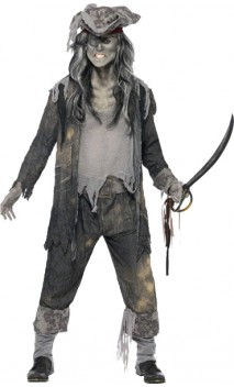 Costume Pirate Homme Zombie