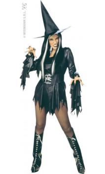 Costume Sorcière Noire Sexy