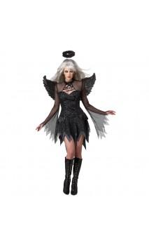 Costume Ange Déchu Noir