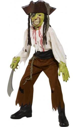 Déguisement Pirate Zombie Enfant