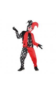 Déguisement Bouffon Halloween Enfant