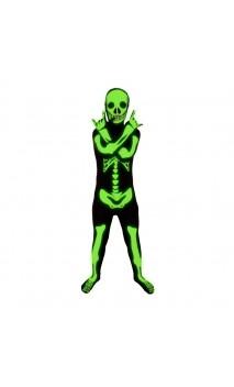 Seconde Peau Squelette UV Enfant