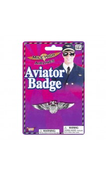 Badge Aviateur, Pilote Argent