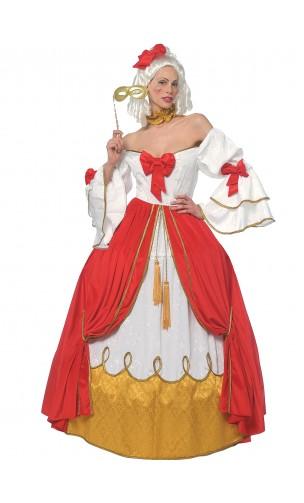 robe marquise Eugénie luxe en location