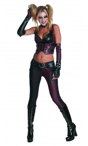 Déguisement Harley Quinn Arkham