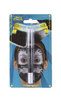 Crayon Visage et Corp Noir