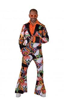 Costume Hippie Psychédélique