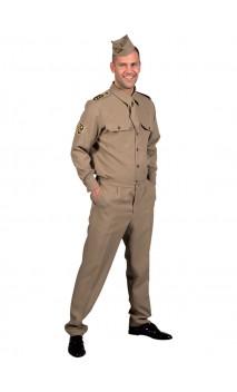 Officier militaire 1940's homme