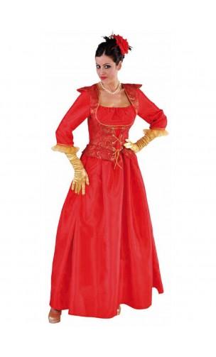 Costume Marquise Diane Rouge